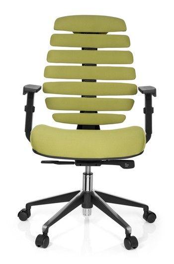Design bürostuhl  Bürostuhl / Drehstuhl ERGO LINE II Stoff grün hjh OFFICE | Stühle ...