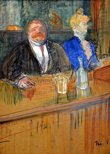Henri de Toulouse-Lautrec - Bar, 1898 at Kunsthaus Zürich - Zurich Switzerland