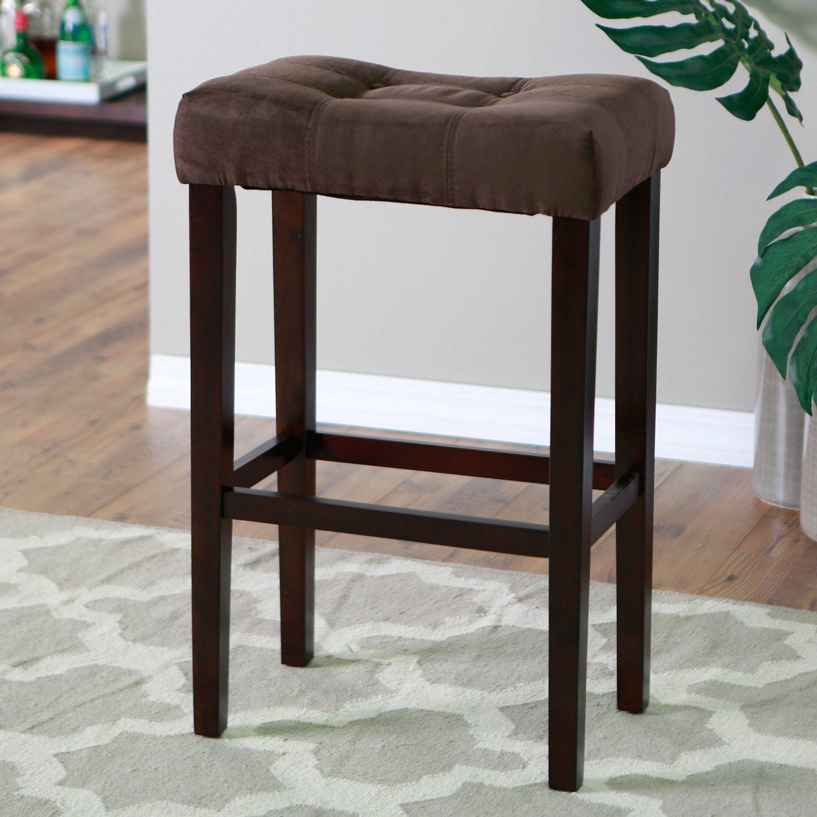 Bar Stools Inch Seat Height Barhocker Mobel Braun Und
