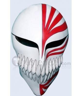 Bleach Ichigo Hollow Cosplay Wood Mask $22 99 | Bleach and