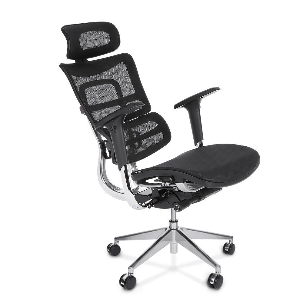 Ergonomic Office Chair Amazon Baby Recliner Canada Com Ikayaa Adjustable High Back Swivel Computer Chairs With Lumbar Support Tilt Slide Headrest Products
