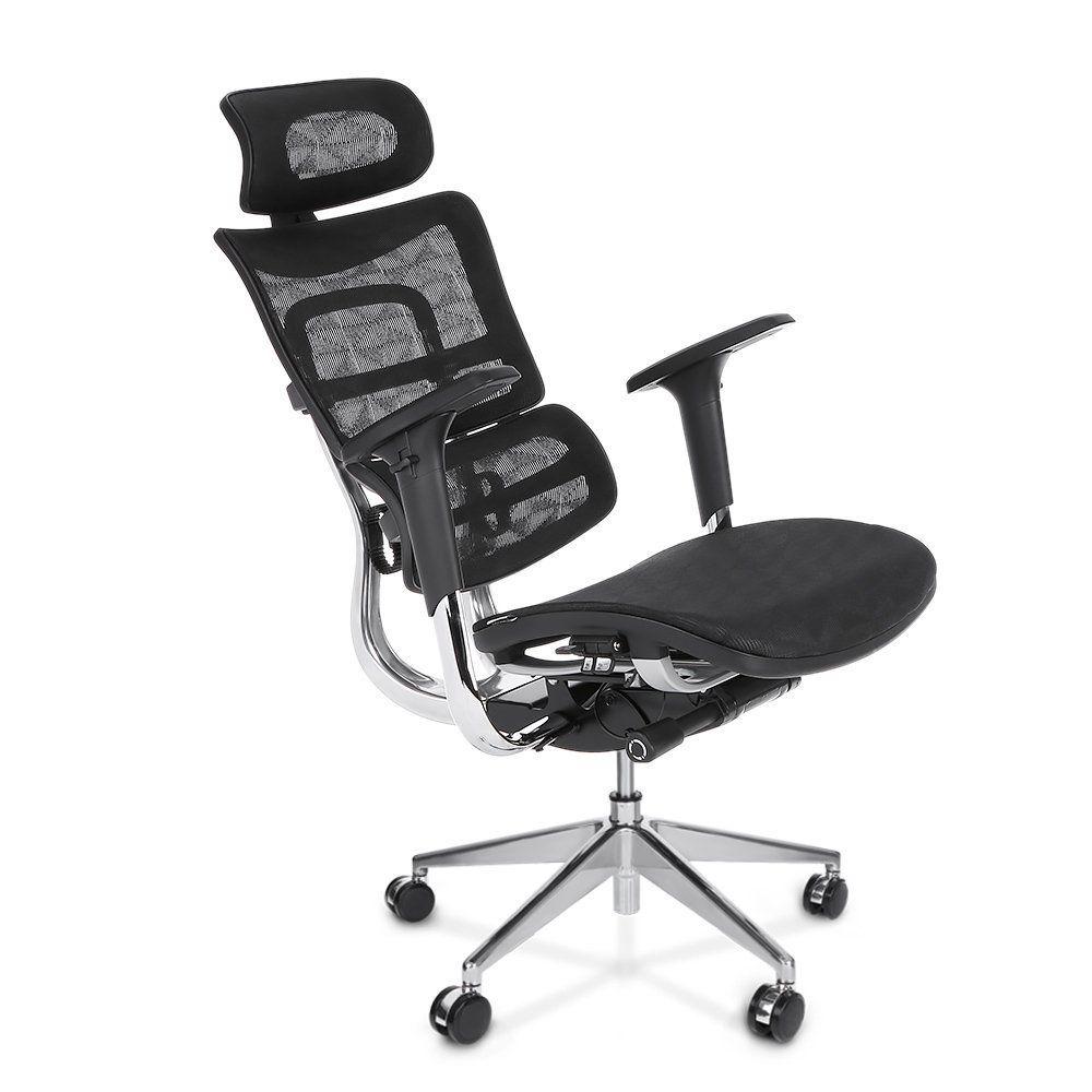 Amazon Com Ikayaa Adjustable Ergonomic Office Chair High Back