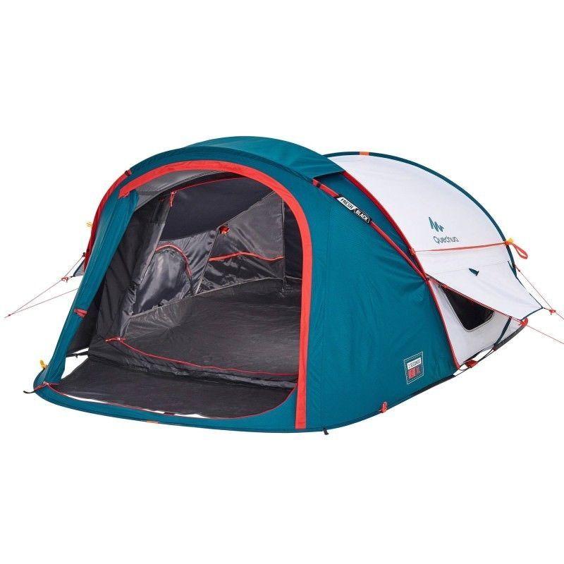 Quechua 2 Seconds 2 Personen Easy Pop Up Wurfzelt Camping Hiking Zelt Festival Tent Pop Up Tent Pop Up Camping Tent