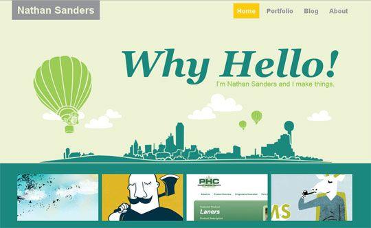 Portfolio Web Design | Website Inspiration | Pinterest | Portfolio ...