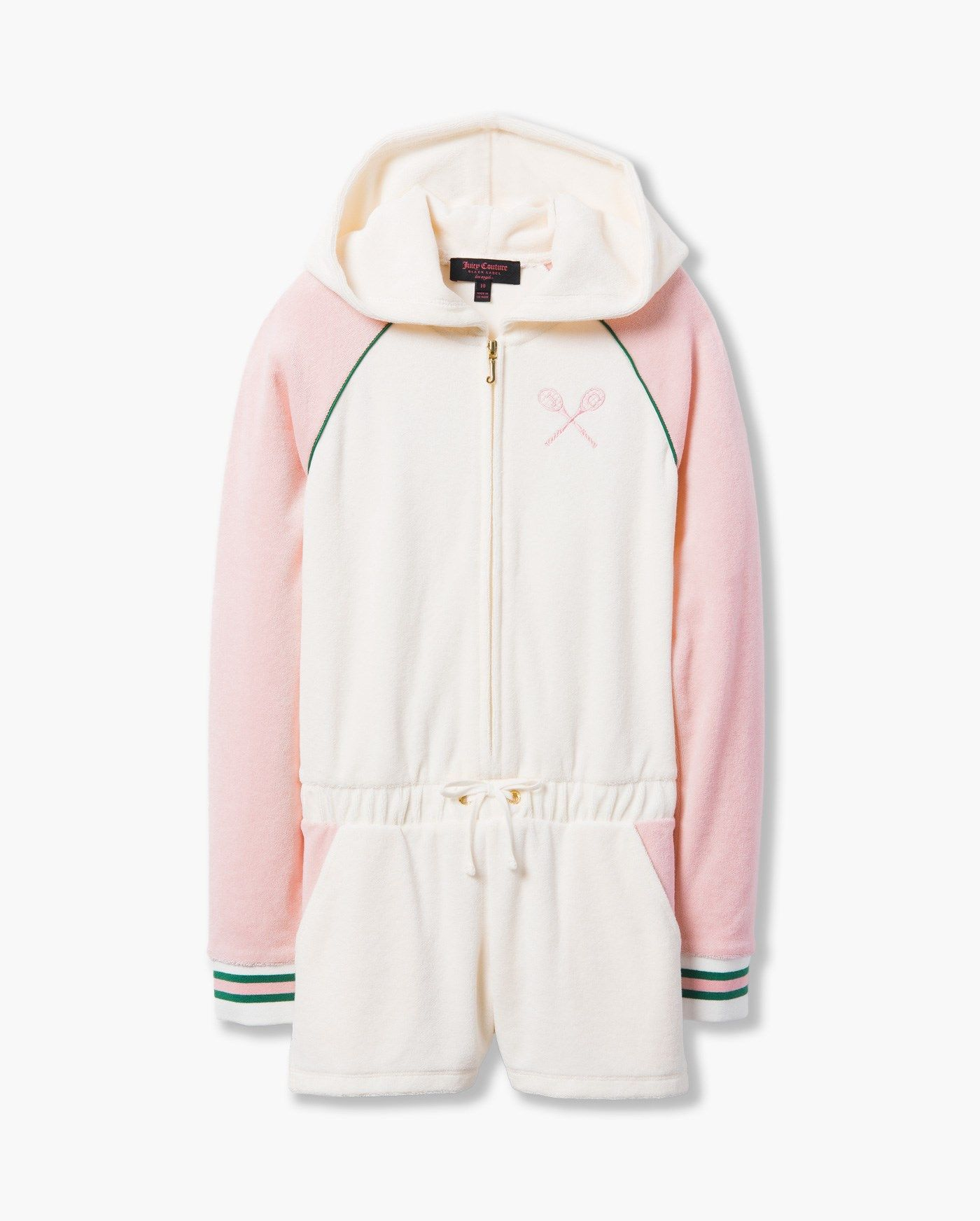 22188fd7e JUICY TENNIS MICROTERRY ROMPER - Juicy Couture | Jo in 2019 | Girls ...