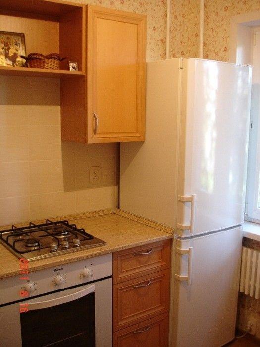 кухни для хрущевок с газовой колонкой фото