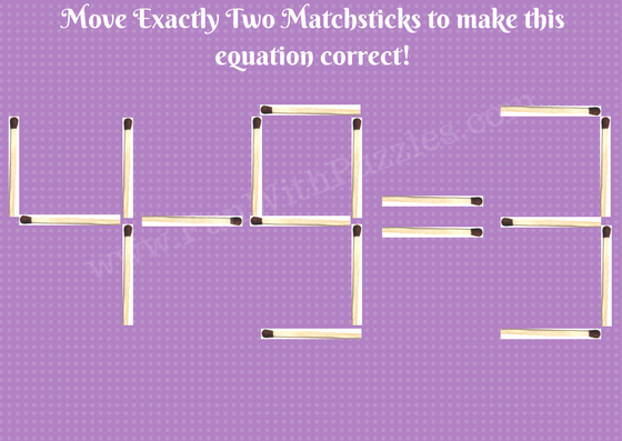 math worksheet : matchstick math brain teasers picture 5  math brain teasers  : Math Brain Teaser