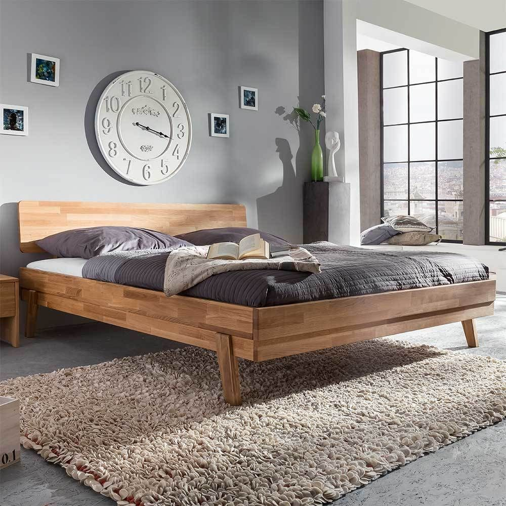 Holzbett massiv 200x200  Wildeiche Bett massiv geölt 200x200 Jetzt bestellen unter: https ...