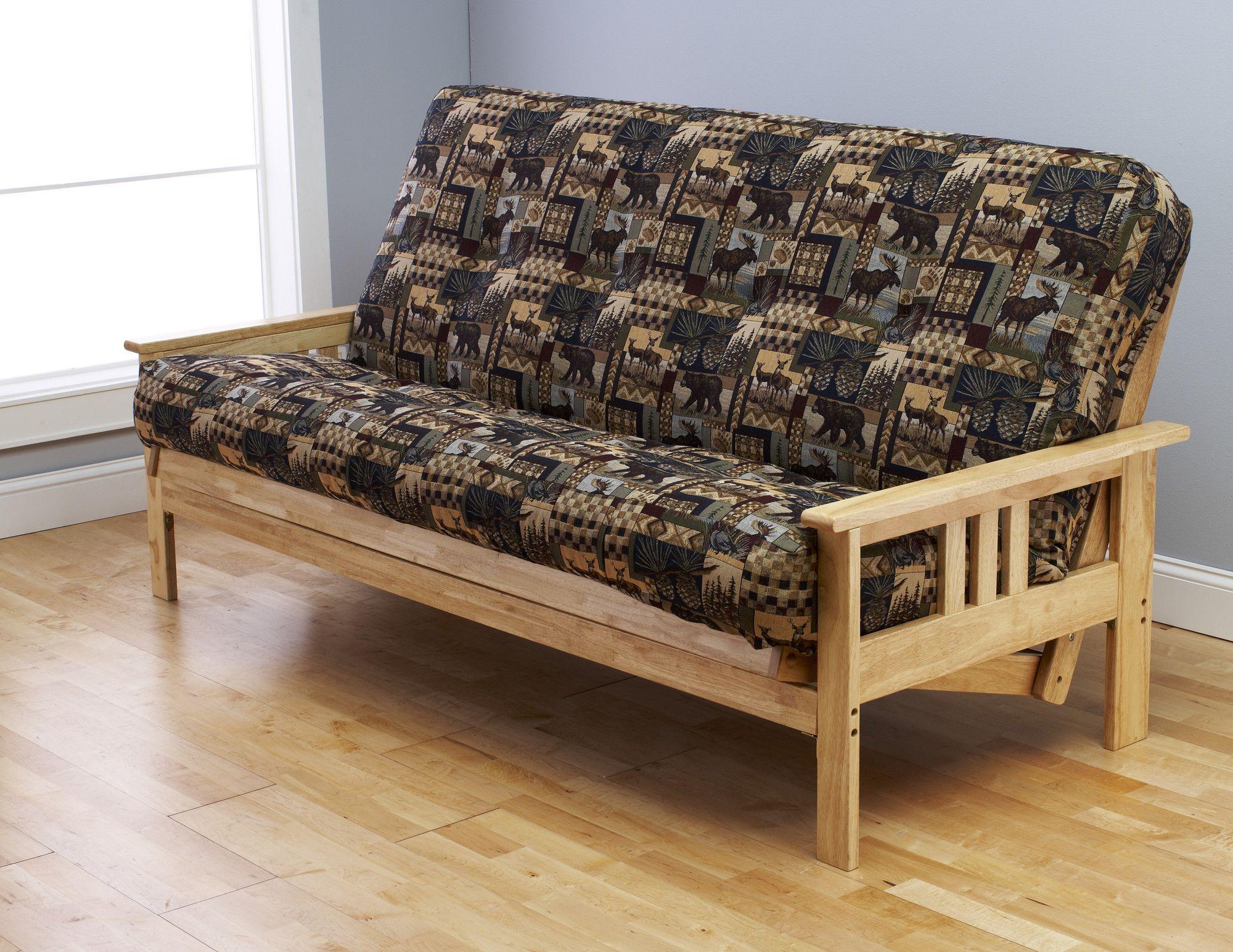 Kodiak Furniture Monterey Peter's Cabin Futon and Mattress