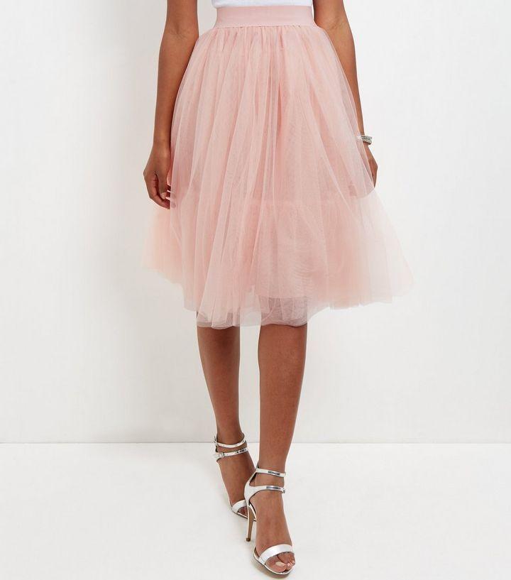 Womens Tulle Midi Skirt New Look Cheap Marketable HEnAN