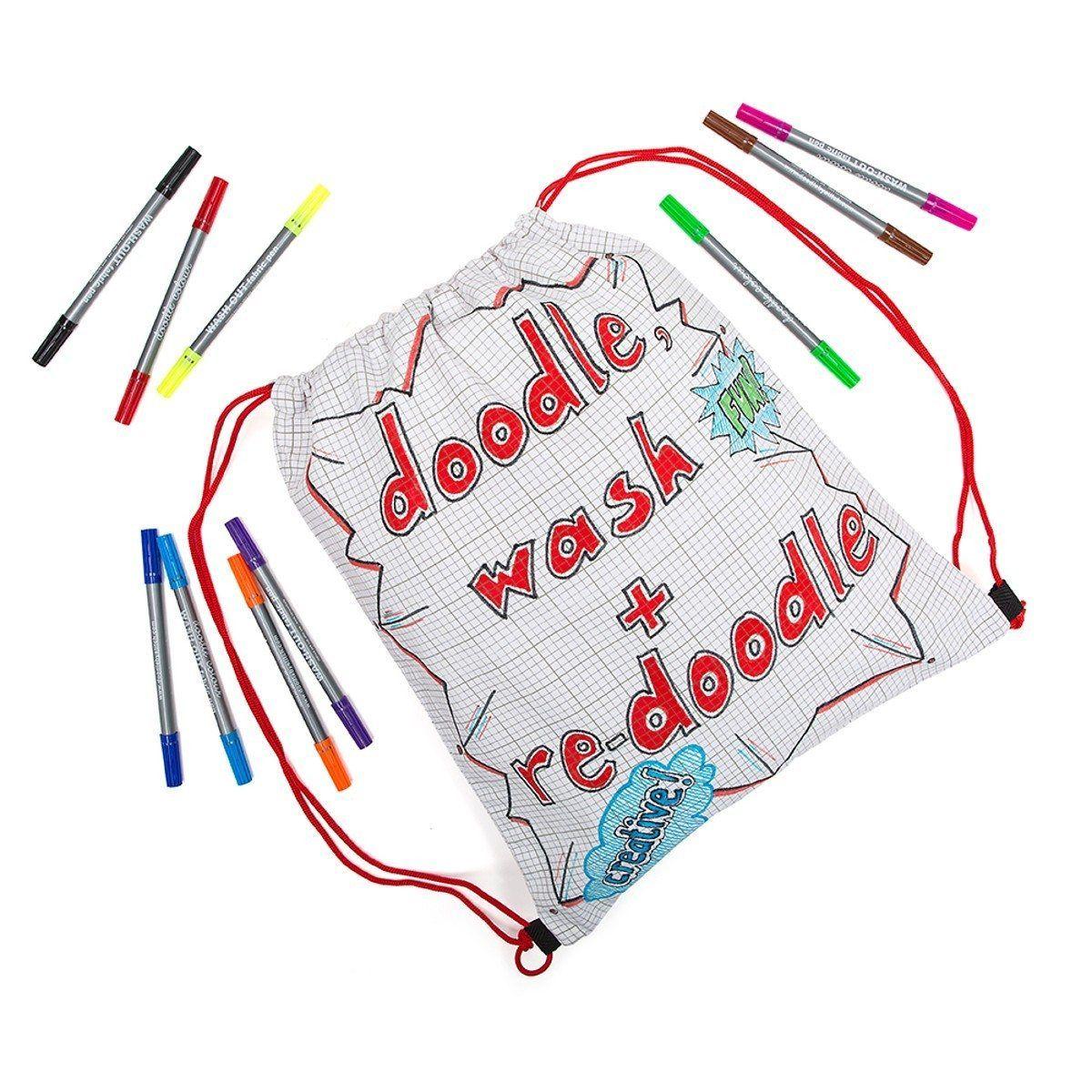 Sac à dos à peindre – Doodle