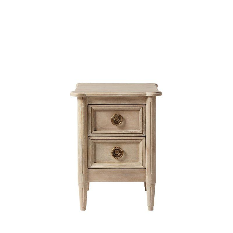 Crafted With Smaller Spaces In Mind The Dawson Bedside Table