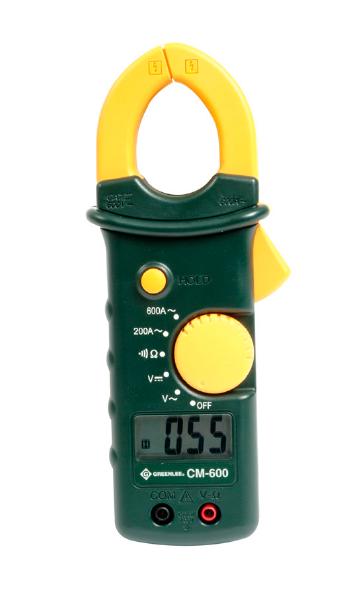 Pinza Amperimétrica 600A, 600V, 2000Ω | E-conex