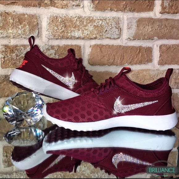 c854cecd9bdb Nike Shoes - REDUCED Swarovski Nike Juvenate Burgundy