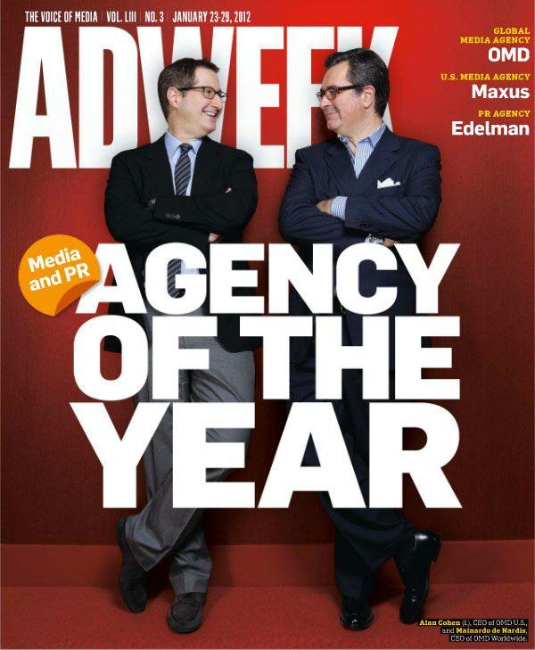 Adweek cover - Jan. 23, 2012