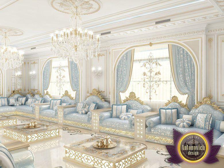 Kitchen Design Usa By Katrina Antonovich: The Hospitable Living Room From Luxury Antonovich Design