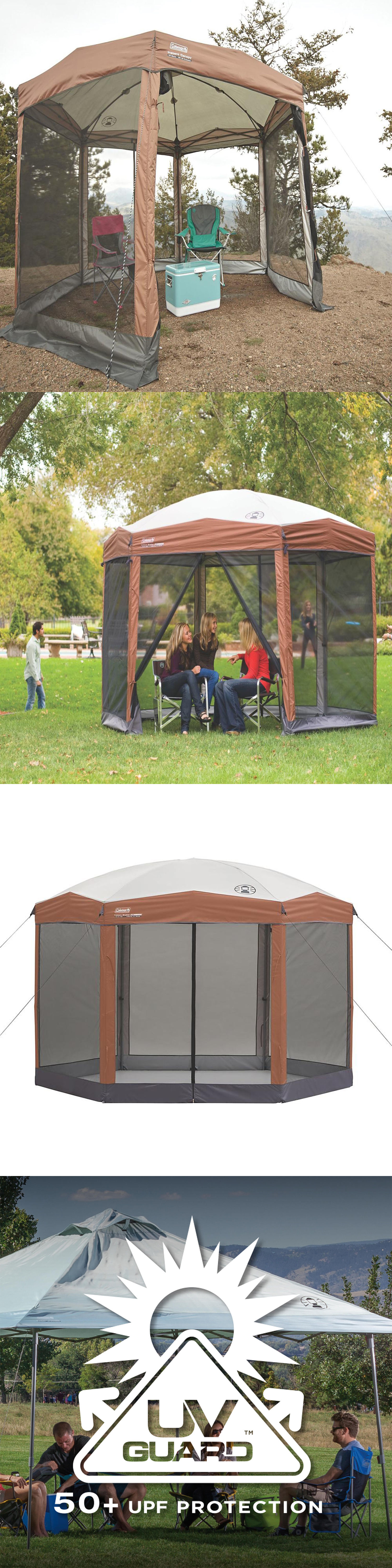 Canopies and Shelters 179011 Outdoor Screened Canopy Tent 12 X10 Instant Shelter Patio C&ing House & Canopies and Shelters 179011: Outdoor Screened Canopy Tent 12 X10 ...