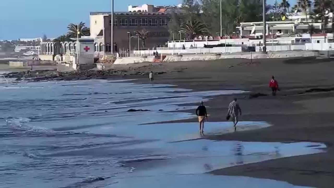 Turismo en Gran Canaria ..Playa de San Agustin