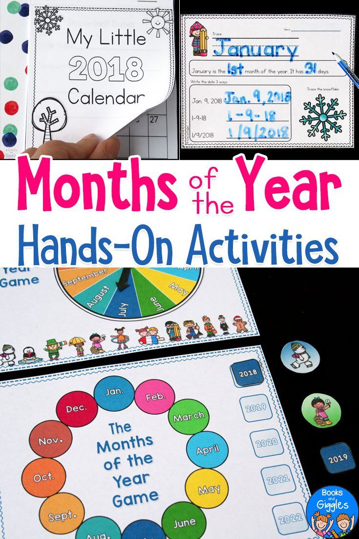 Months Of The Year Activities Worksheets Worksheets Activities