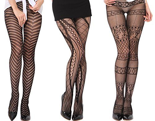 ee9c46c6f22e3 H Secret Women's Seamless Sheer Patte… | stockings and pantyhose ...