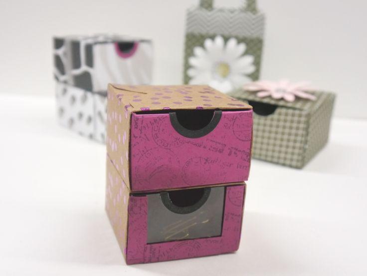 schubladenbox mit dem stanz und falzbrett stampin up. Black Bedroom Furniture Sets. Home Design Ideas