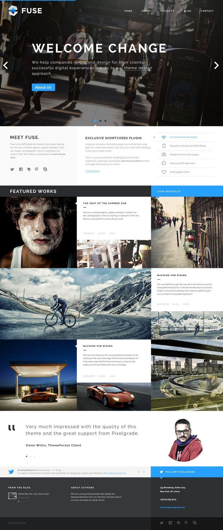 Pin By Gustavo Dallegrave On Web Layout Web Development Design Web Design Inspiration Web Layout Design