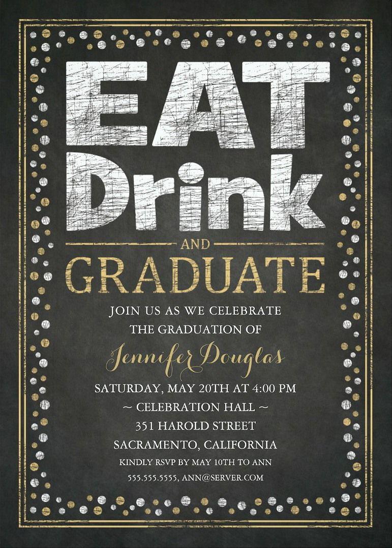 Graduation Party Invitations Unique Grad Party Invitations ...