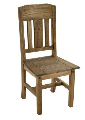 sillas de madera rusticas - Buscar con Google | Pequeño departamento ...