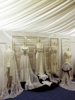 The Sheelin Antique Irish Lace Museum is a private collection belonging to Rosemary Cathcart which houses approximately 700 exhibits, illustrating the 5 main types of Lace which were made in Ireland. On display are Wedding Dresses, Wedding Veils, Shawls, Parasols, Collars, Baby Bonnets, Christening Gowns, Flounces, Jackets and many more items. The exhibits can be split up into 5 categories: Irish Crochet Lace, Youghal Needlelace, Inishmacsaint Needlelace, Carrickmacross Lace & Limerick Lace.