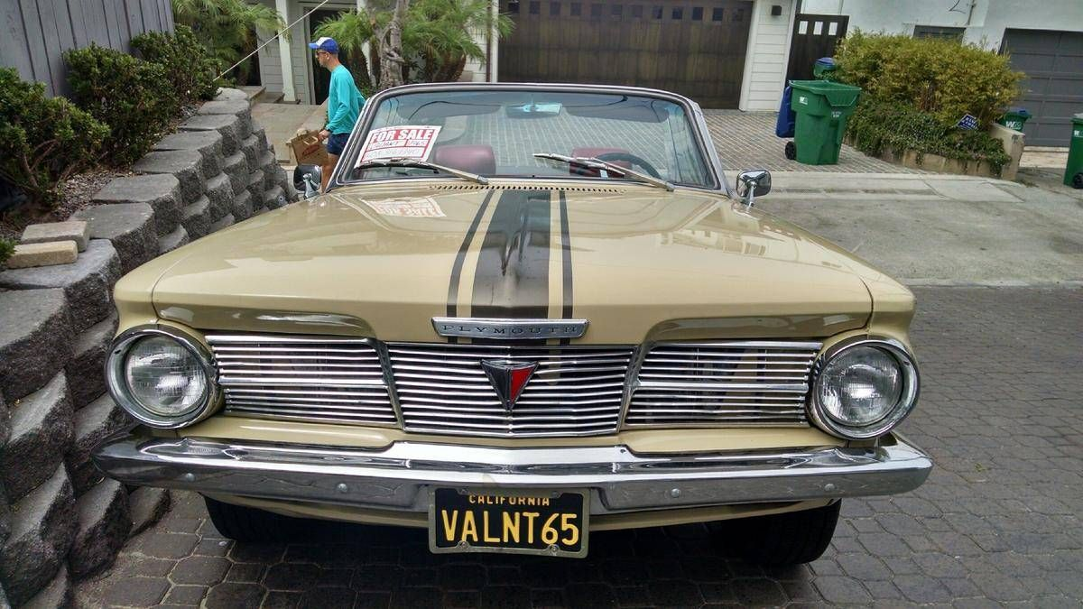 1965 Plymouth Valiant Signet 200 For Sale 1883536 Hemmings Motor 1960 News