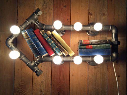 Lampe leuchte wandlampe industrie loft fabrik industrial - Wandlampe industriedesign ...