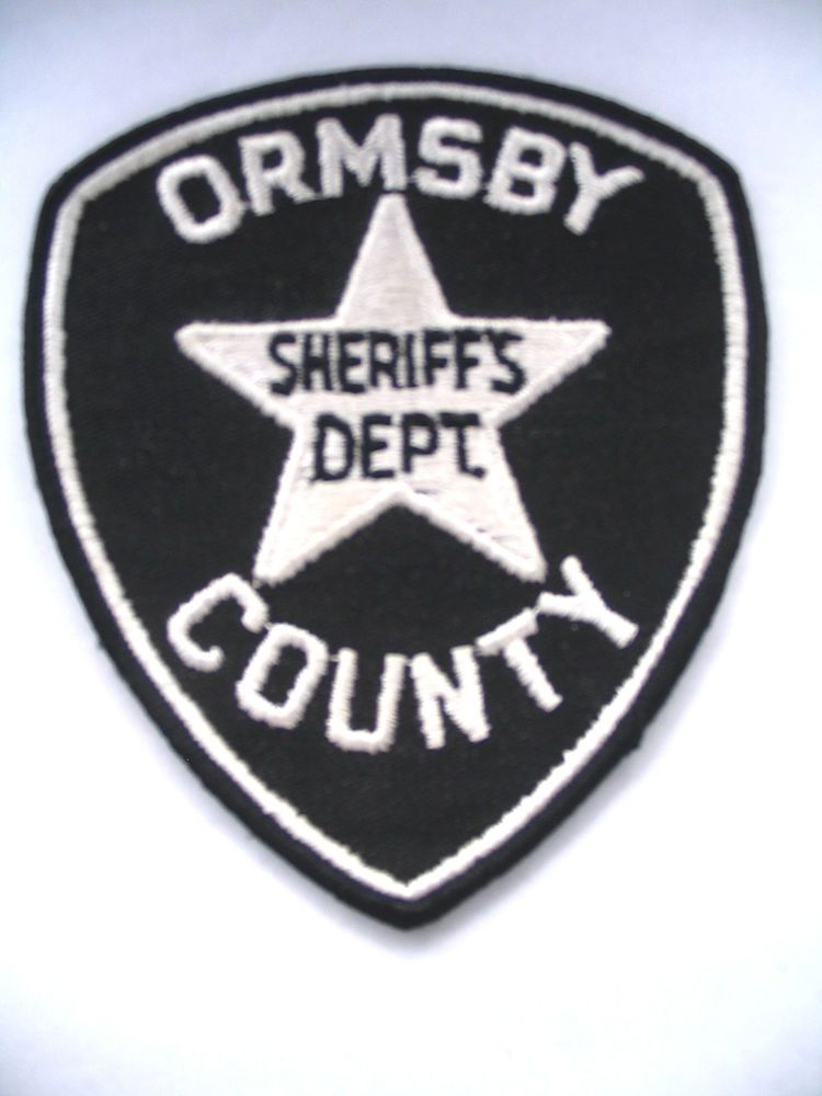 Ormsby County (Nevada) Sheriff Dept Police Patch, Old