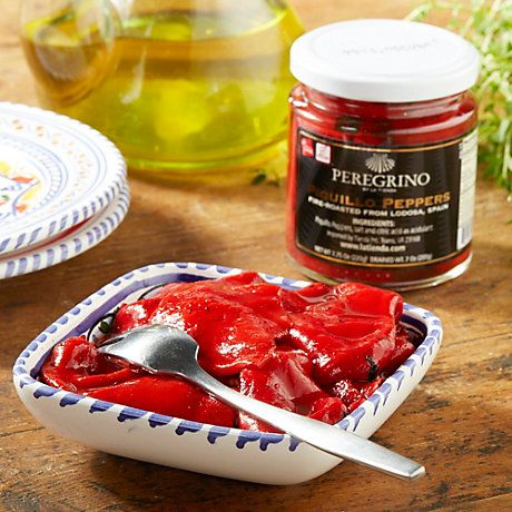 $11 jar. Fire-Roasted Piquillo Peppers Fire-roasted and hand-peeled Sweet and tangy. with a touch of heat … | Mexican food recipes. Food ...