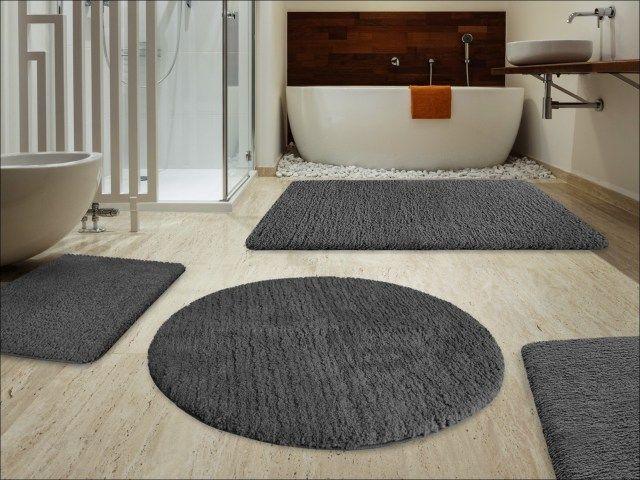 Contemporary Bathroom Rugs Sets