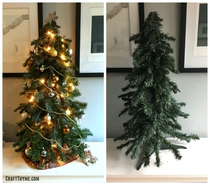 Ever Notice How Sparse Looking An Old Or Cheap Artificial Christmas Tree Can Be I M Not A Huge F Christmas Tree Fake Christmas Trees Artifical Christmas Tree