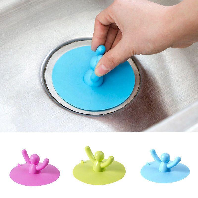$2 07 AUD - Basin Sink Hair Plugs Toilet Water Drain Plug