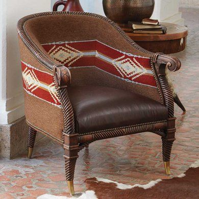 Blanket Chair | King Ranch | Decoration | Pinterest | Sillas y Frazadas