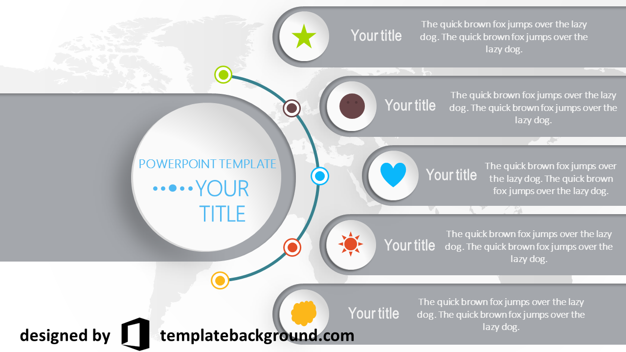 Professional Powerpoint Templates Free Download Infographics