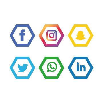 사회 미디어 아이콘 설정 Instagram Whatsapp 페이스북 , 사회, 언론, 아이콘 설정 PNG