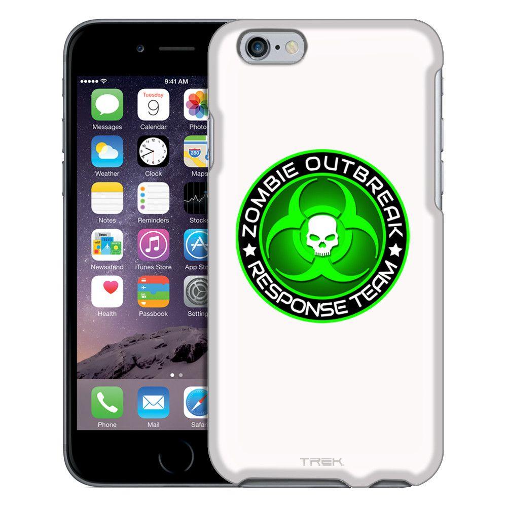 iphone4不卅��[��_AppleiPhone6ZombieOutBreakResponseTeamGreenonWhiteCase|Appleiphone6