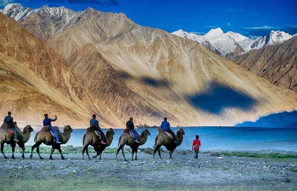 Top Places To Visit In Leh Ladakh Pangong Lake Magnetic Hill