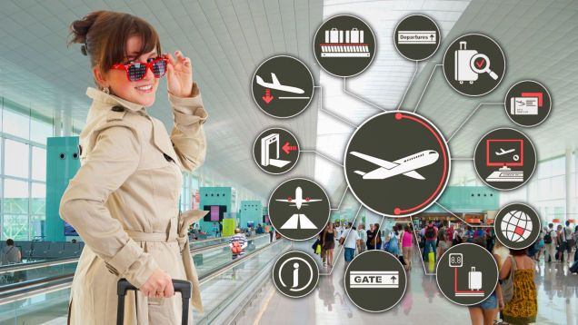 How to Make the Airport Less Crappy (and More Fun) - The travel season is here, and just like every other year, you'll find lines, parking nightmares, security snafus, and other annoyances waiting for you at the airport. Unless, of course, you turn it into an adventure instead. A little foresight, some planning, and smart use of the many amenities available can turn a sucktastic trip to the airport into an event to look forward to. Here's how.