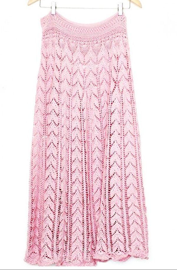 Top 10 Crochet Skirts | Crochet Fashion | Pinterest | Rock, Häkeln ...