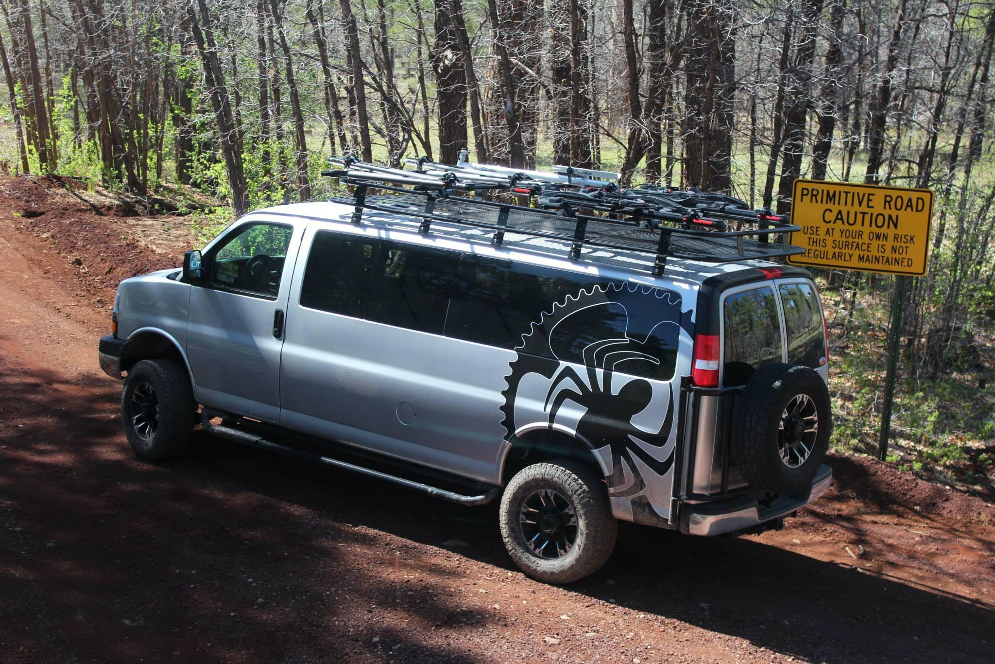 Gm 4x4 Van Conversion Advanced 4x4 Vans 4x4 Van Conversion