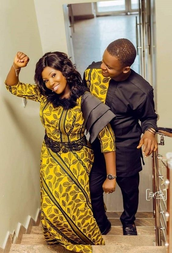 40 Matching Ankara Outfits Ideas for Couples | Stylish Gwin Africa