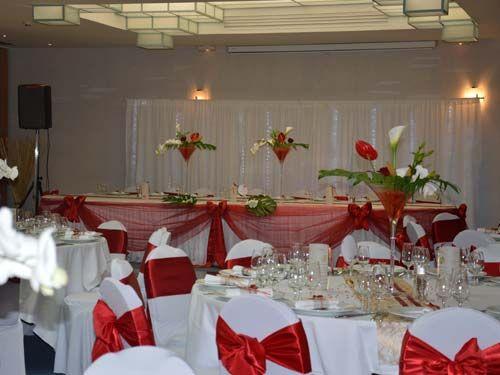 Extrem Deco mariage rouge et blanc chic | Mariage vintage / rétro chic  TF48