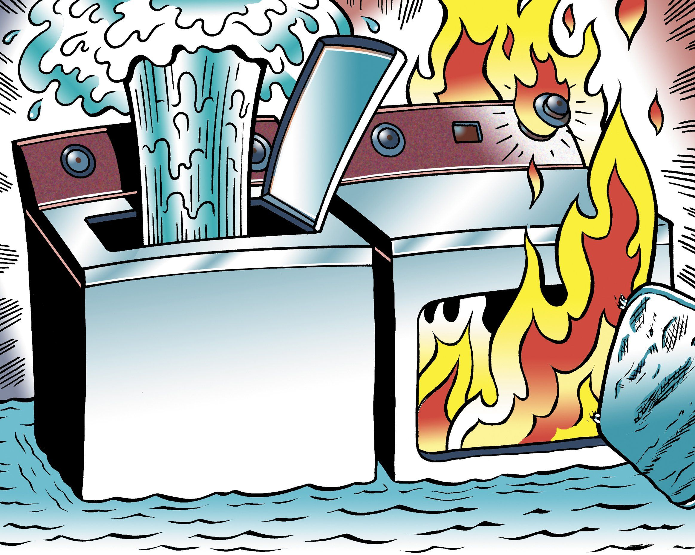 some of the greatest potential for flood and fire comes from your washer and dryer here s how to cut the odds [ 2326 x 1858 Pixel ]