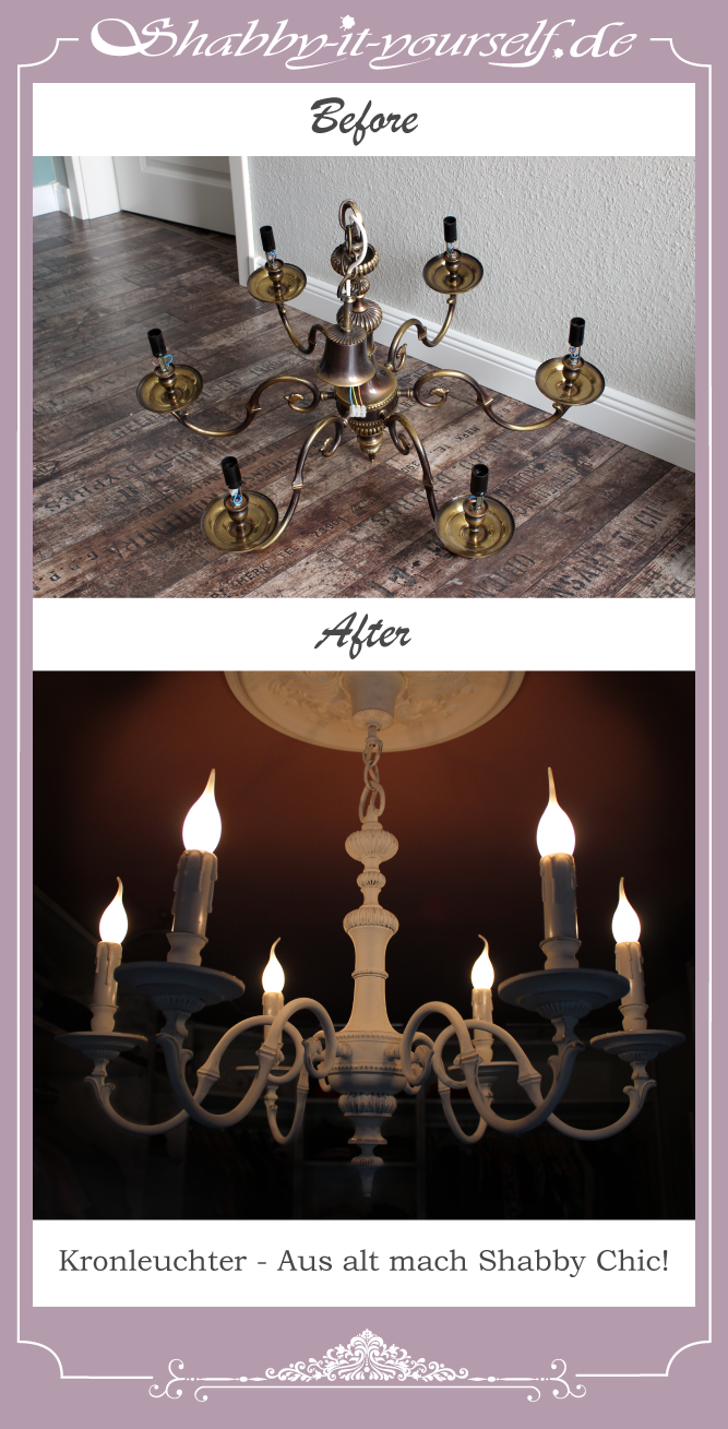 pin von shabby it yourself auf siy lampen lamps in 2019 kronleuchter shabby chic