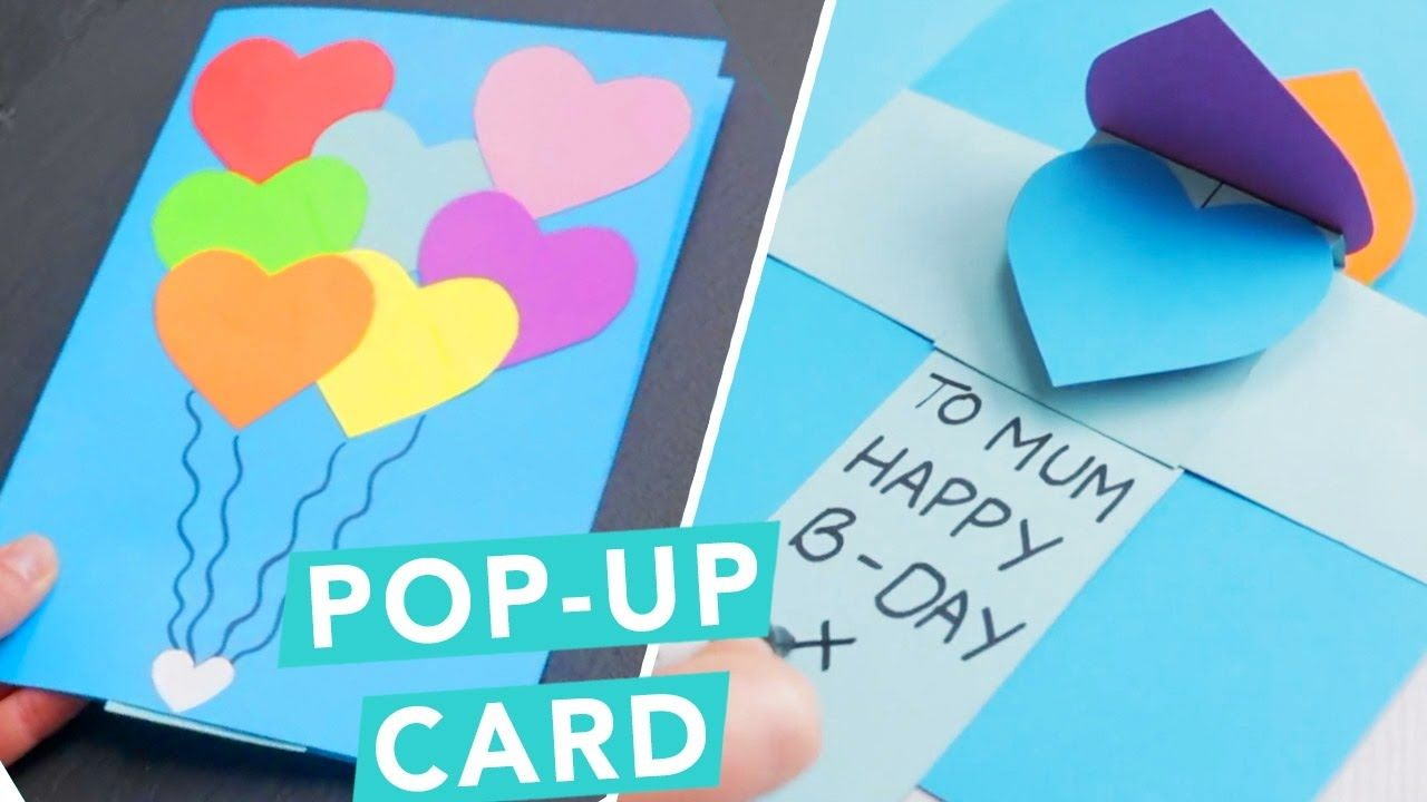 3d Pop Up Card Diy Card Ideas Craft Factory Youtube