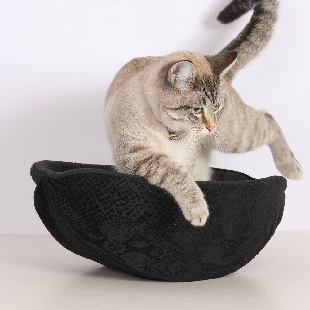 Cat Canoe a Unique Handmade Modern Cat Bed